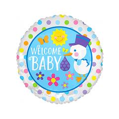 Baby welkom ballon