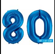 folie ballonnen 80