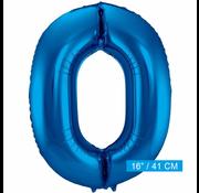 Folieballon 0