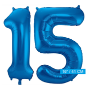 Folie ballonnen 15