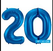 Folie ballonnen 20