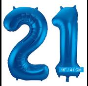 Folie ballonnen 21