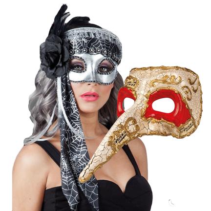 Maskers voor elk thema