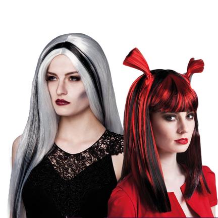 Heksen pruiken online kopen