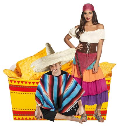 Mexico verkleedkleding, feestartikelen & versiering