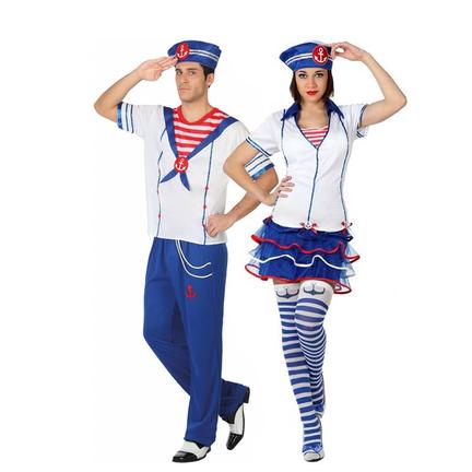 Marine thema kostuums