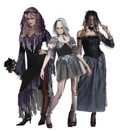 Halloween zombie kostuum