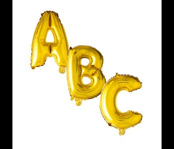 Helium gouden letter ballonnen