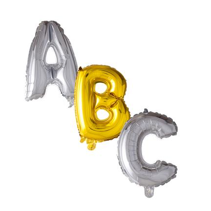 Helium letter ballonnen