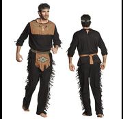 Heren indianen kostuum