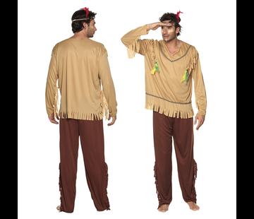 Indianen pak vliegende adelaar