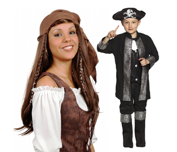 Piraten kleding