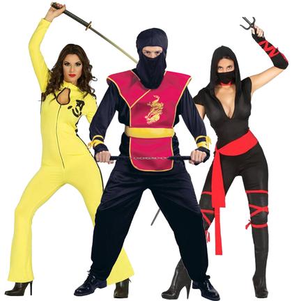 Ninja kostuum voor jong en oud