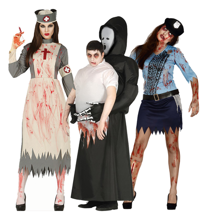 Zombie outfit online kopen
