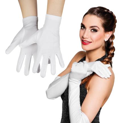 Witte handschoenen