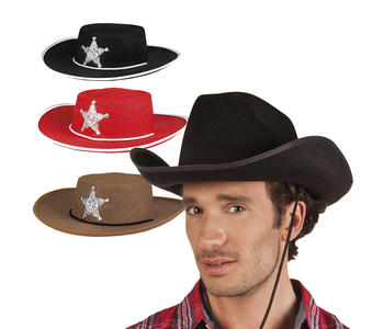 Wild West hoeden