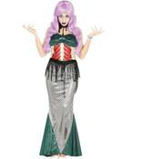 Halloween zeemeerminnen jurk