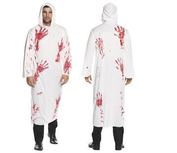 Horror kostuum bloed handen
