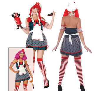 Horror clown kostuum