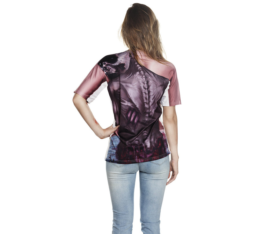 Dames 3D Shirt zombie