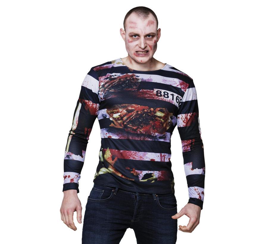 3D T-shirt zombie gevangene
