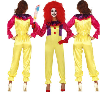 Dames Clown kostuum it