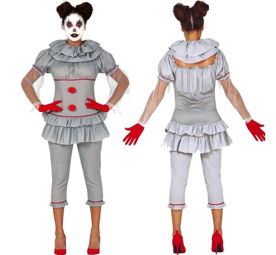 Goedkope Clown IT  kostuum dames
