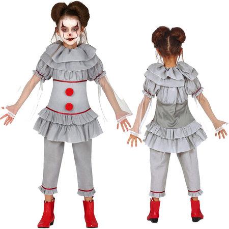 Goedkoop horror Clown IT kostuum kind