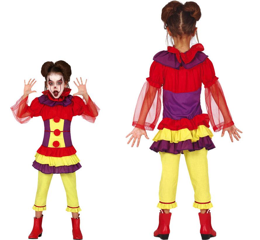 Griezelige IT clown kostuums kinder maten