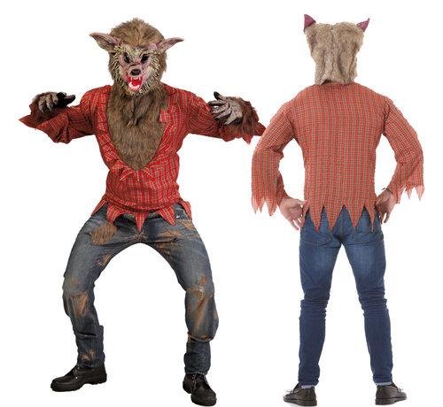 Sprookjes Wolven pak - De grote boze wolf