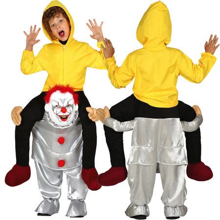 Lopende horror Clown Kostuum kind
