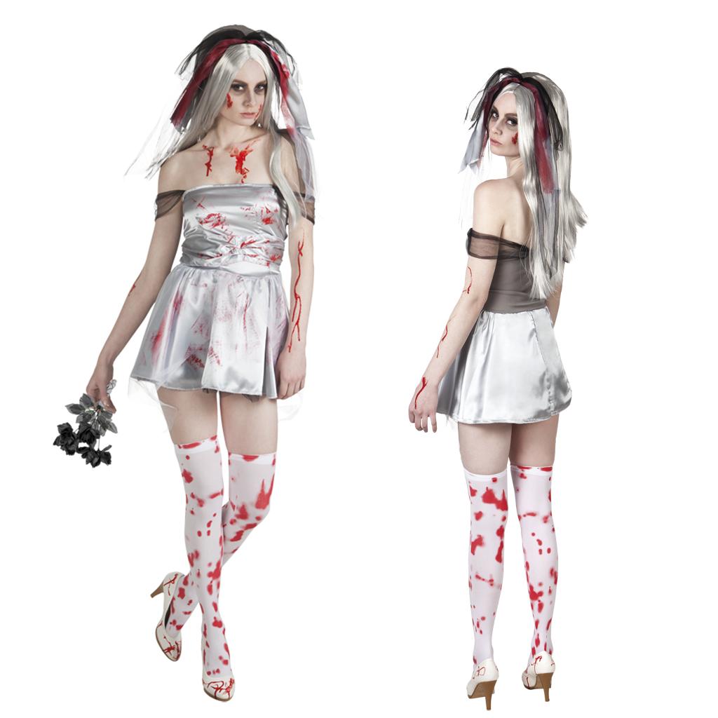 Halloween Kostuum Nl.Zombie Bruid Halloween Kostuum