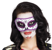 Paars Mexicaans dodenmasker