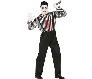 Horror mimespeler outfit