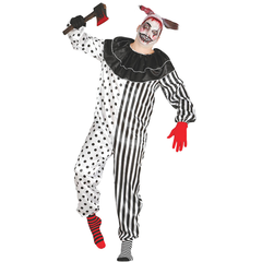 Horror Pierrot clown kostuum