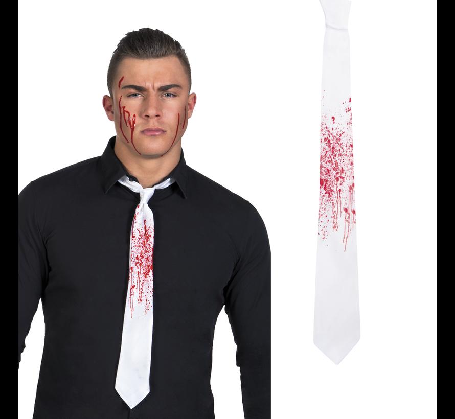 Bloederige stropdas