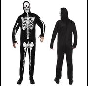 Halloween kleding skeleton