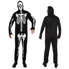 Halloween kleding skeleton dancer