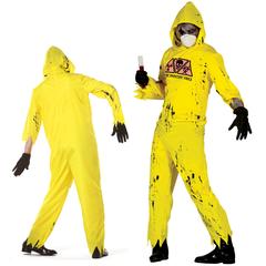 Zombie kostuum Biohazard conciërge
