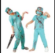 Horror kleding chirurg