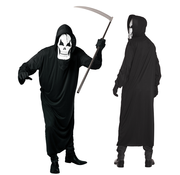 Halloween kleding grim reaper