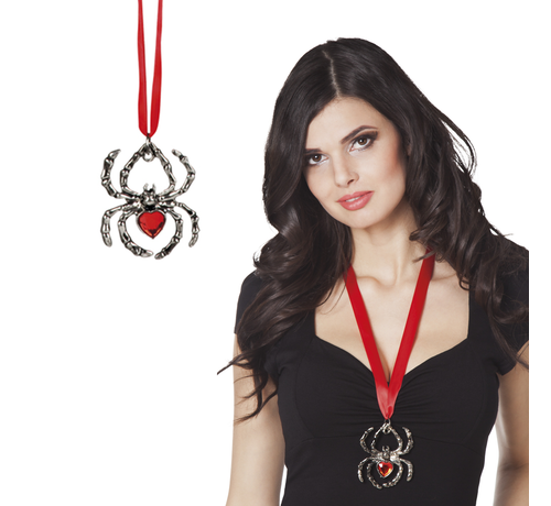 Spin ketting ruby spider