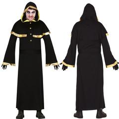Gothic kostuum met capuchon