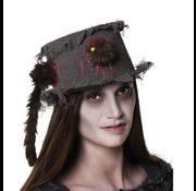Bruine dames grafdelver hoed