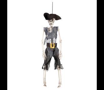 Halloween skelet piraat
