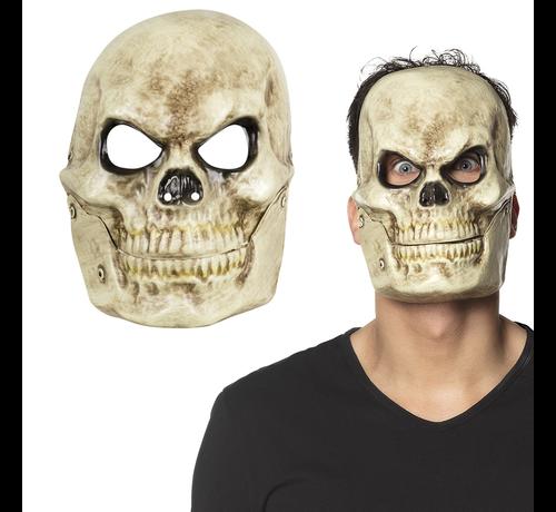 Doodskop bewegende mond masker