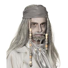 Jack Sparrow pruik en snor