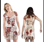Fotorealistisch jurkje Zombie bruid