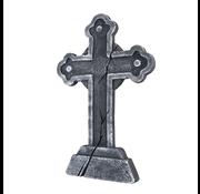 Grafsteen kruis Halloween