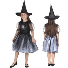 Kinder verkleedkleding spider witch